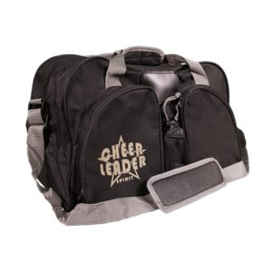 Cheer Leader Spirit Black Duffel Bag