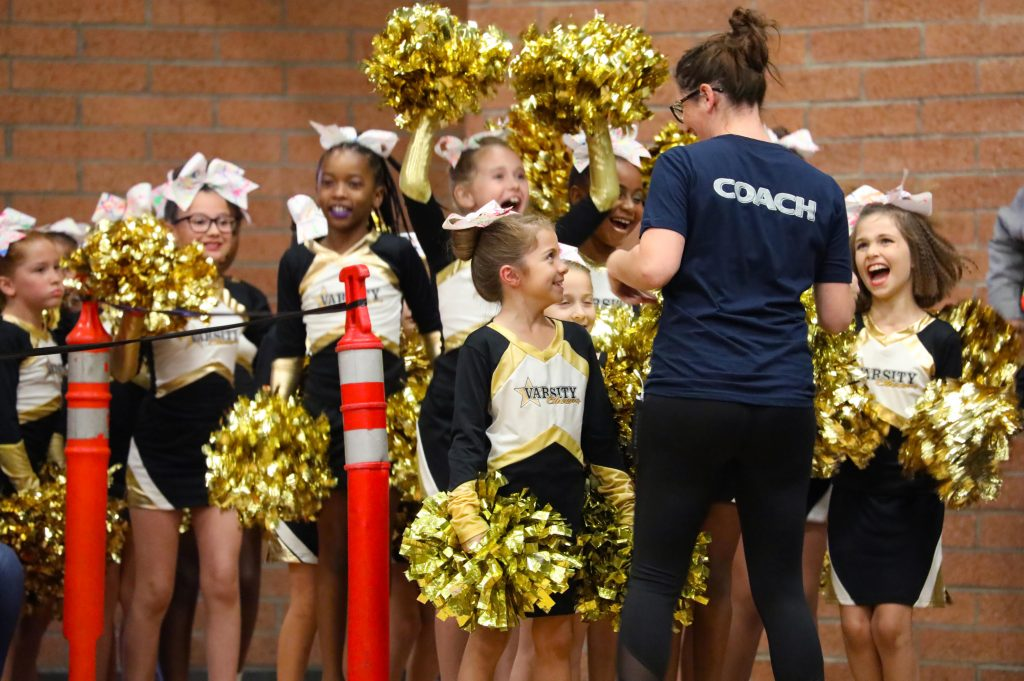 Keeping fun and team work ahead of youth sports competition