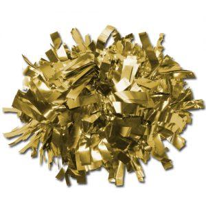 Gold Cheerleading Pom Poms