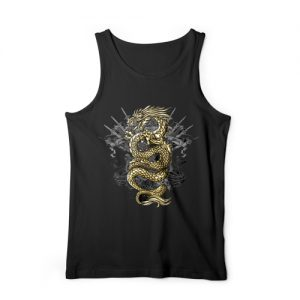Gold Dragon Tank Top (K7)