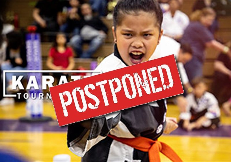 Postponed-Karate-Tourny